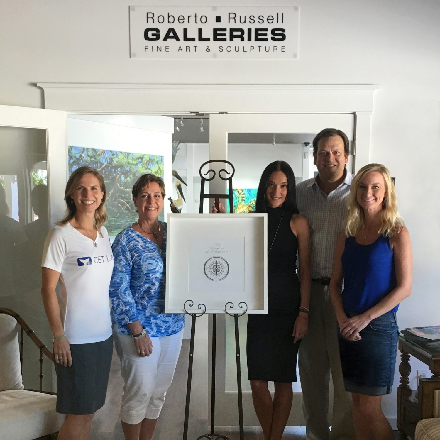 Cet Law Partners with Renowned Artist, Gabi Gutwirth